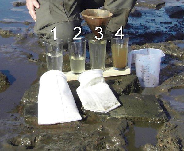 Filterbeutel-Beutelfilter-Elbwasser