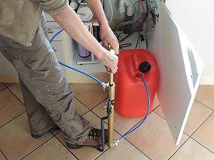 Filtex Handpumpe im Osmosebtrieb